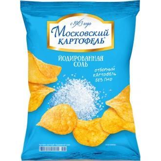Московский Картофель130г*16- Соль